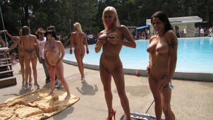 Nudist events